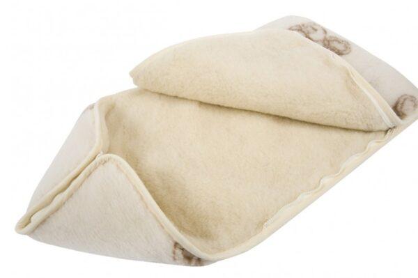 100% looduslik lambavilla soojakott