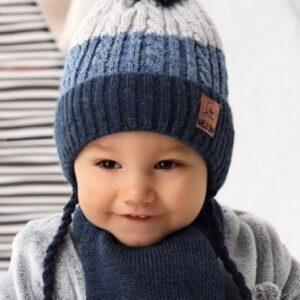 Beebi talvemüts ja sall